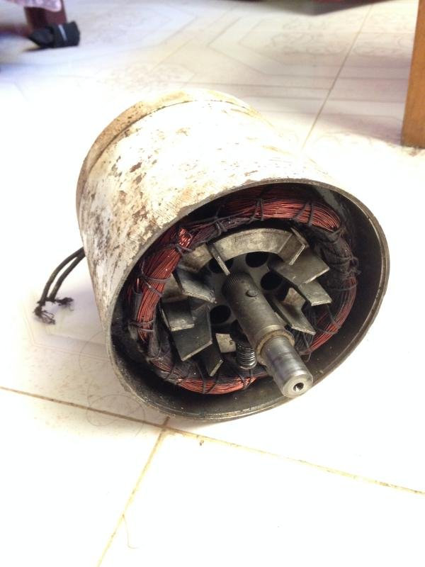 old meat slicer motor