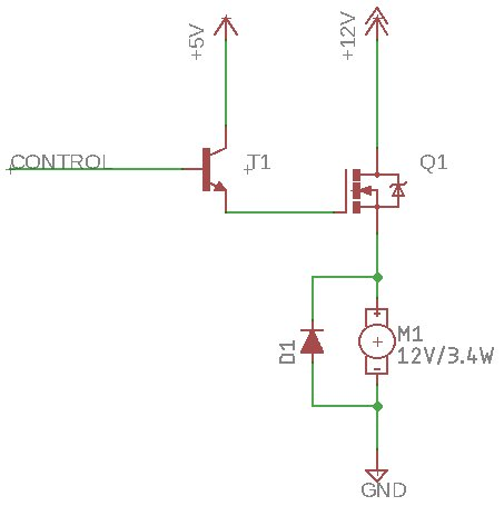 3.3V to 12V load switch