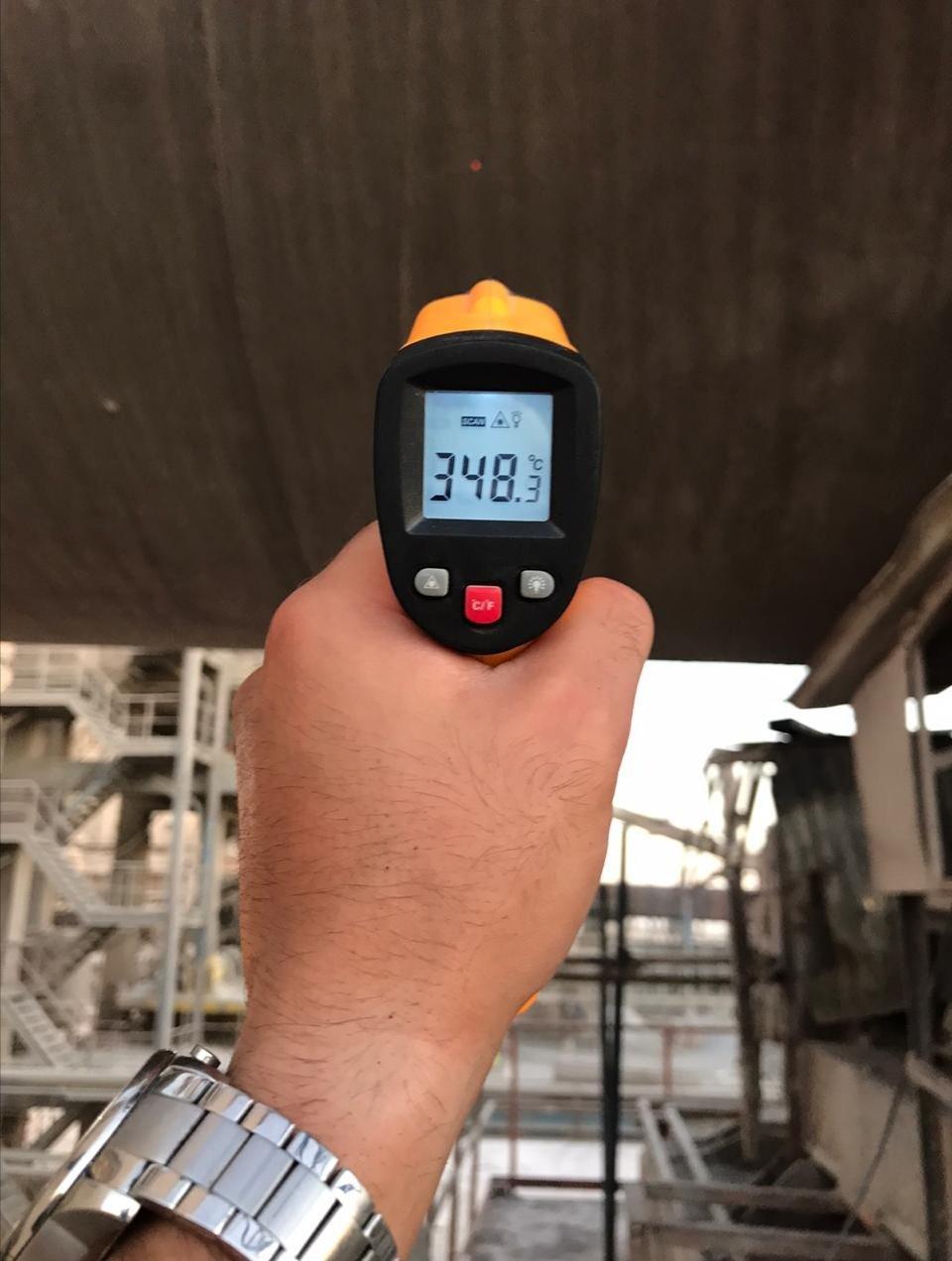 Shell Average Temperature