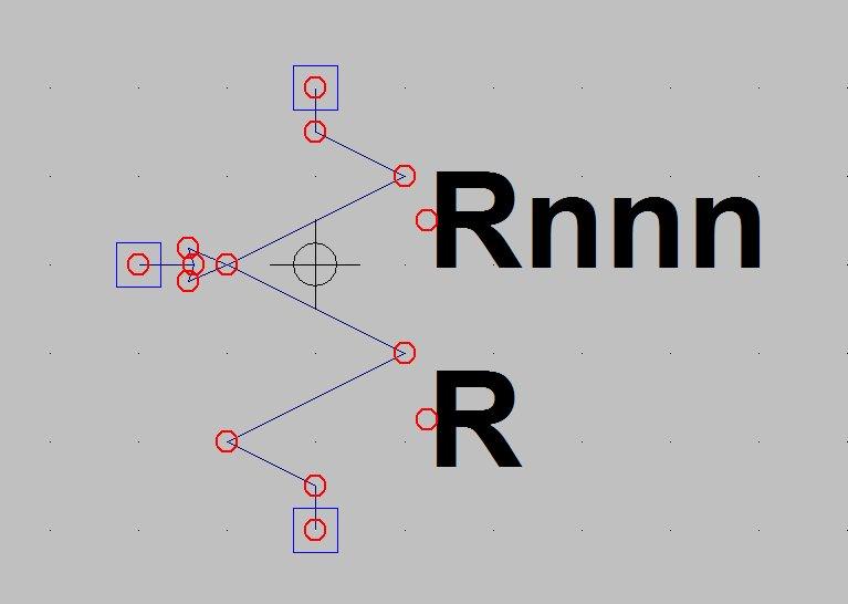 3-terminal resistor model, under construction
